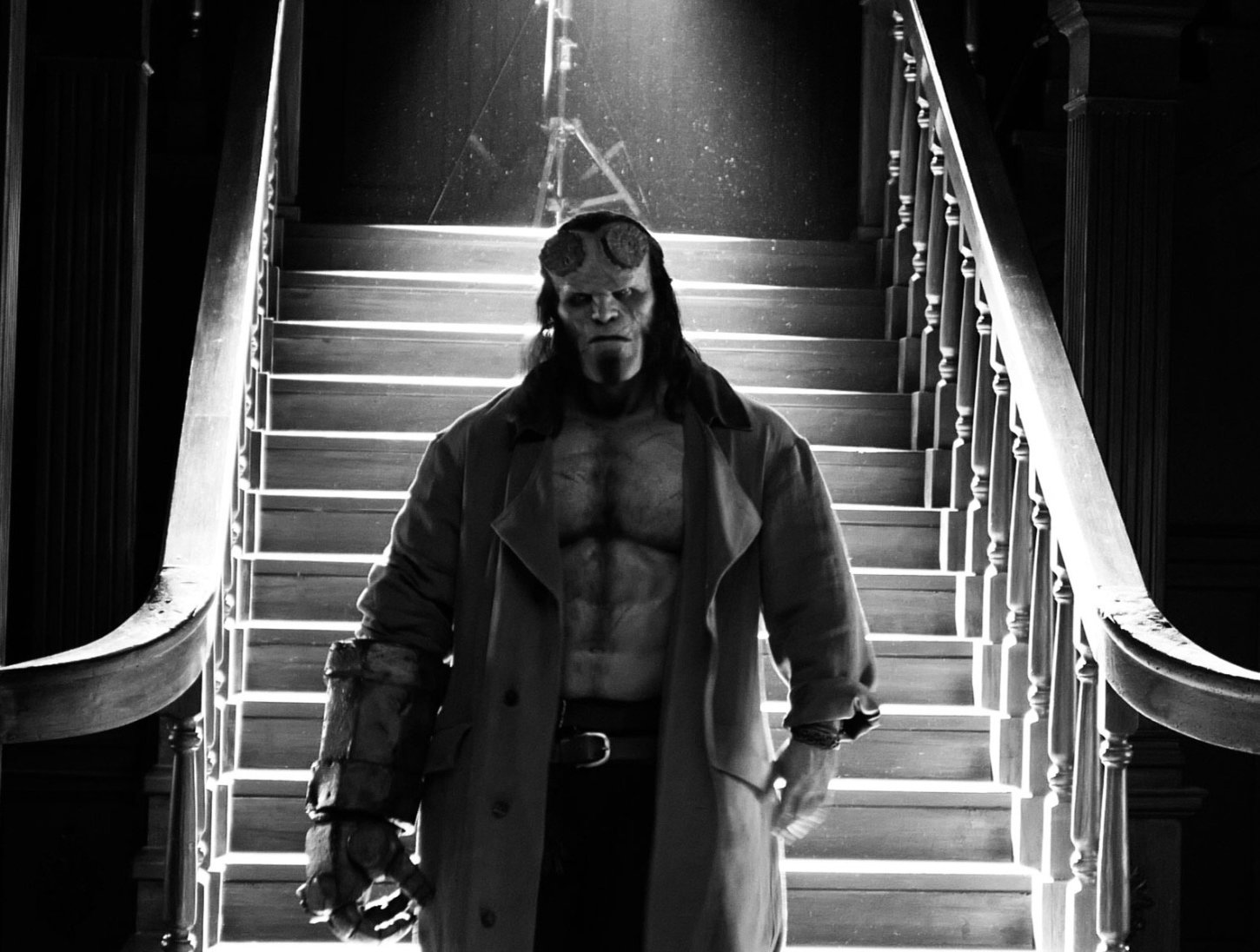 "Your First Look at the New ""Hellboy!"""
