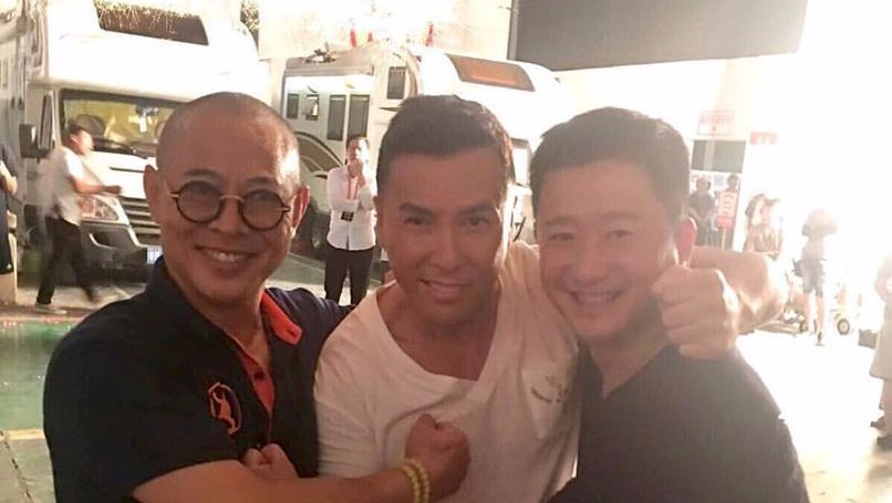 "Action Legends Donnie Yen, Jet Li and Wu Jing are the New ""TRIPLE THREAT!"""
