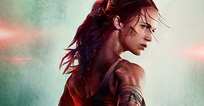 """Alicia Vikander Strikes a Heroic Pose in the New Poster for """"Tomb Raider"""""""