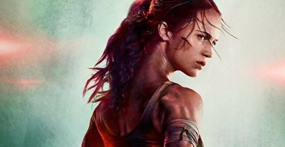"Alicia Vikander Strikes a Heroic Pose in the New Poster for ""Tomb Raider"""