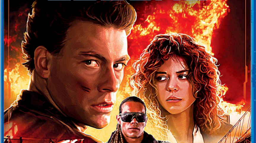 "Home Video: The Special Edition Blu-Ray of Van Damme's ""Cyborg"" Hits in January!"