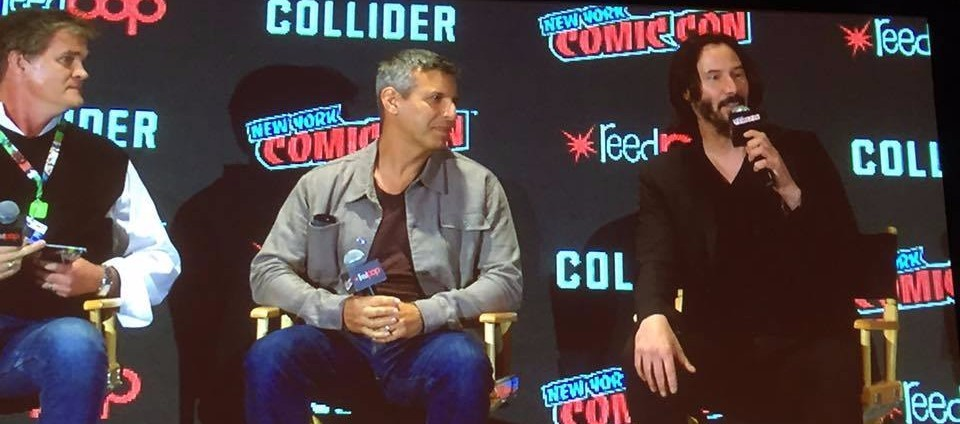 """NYCC 2017: Keanu Reeves Debuts the New Trailer for """"Replicas!"""" Exclusive Panel Photos!"""
