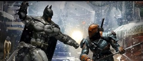 The Action Fix: Batman and Deathstroke have a Battle for the Ages!
