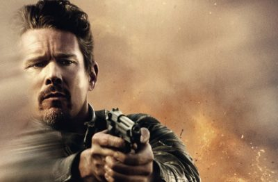 "Ethan Hawke Takes Aim in the New Poster for ""24 Hours To Live"""