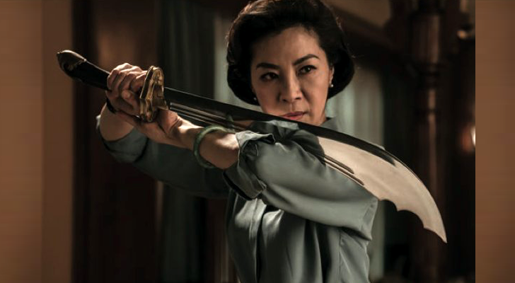 "Michelle Yeoh Stikes a Deadly Pose in the First Image from ""Master Z: Ip Man Legacy"""