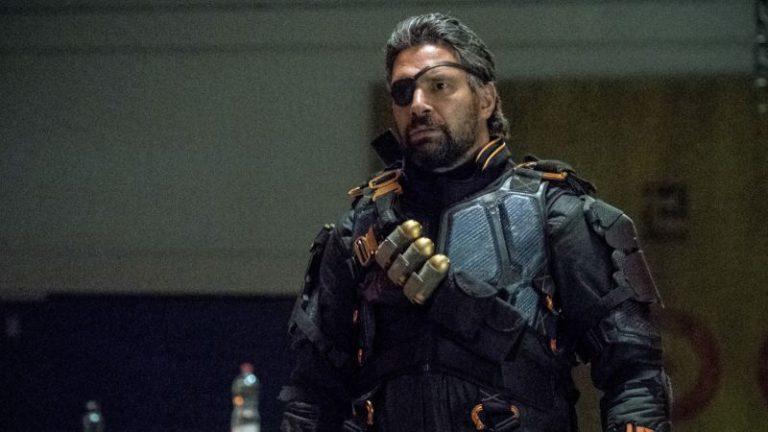 "Manu Bennett Returns as Deathstroke on The CW's ""Arrow!"""