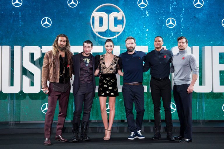 "Hear from the Stars of ""Justice League"" from the London Press Conference!"