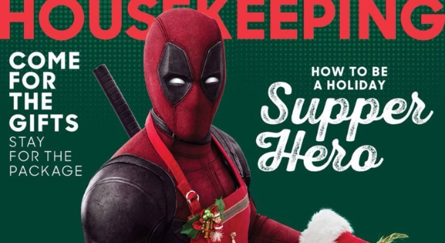 Deadpool Makes the Cover of Good Housekeeping! No, Really, He Did!