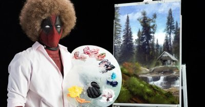Trailer: Deadpool Delivers the Joys of Painting in the First Teaser Trailer for the Sequel