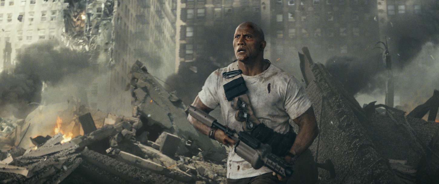 "Trailer: Big Meets Bigger in The Rock's New Video Game Thriller ""Rampage"""