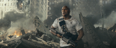 """Trailer: Big Meets Bigger in The Rock's New Video Game Thriller """"Rampage"""""""