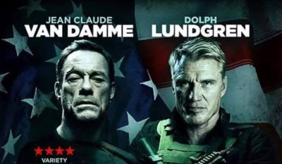"Van Damme and Lundgren Unite in the New Poster for ""Black Water"""