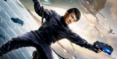 """A New Poster and Trailer Hits for Jackie Chan's Sci-Fi Epic """"Bleeding Steel"""""""