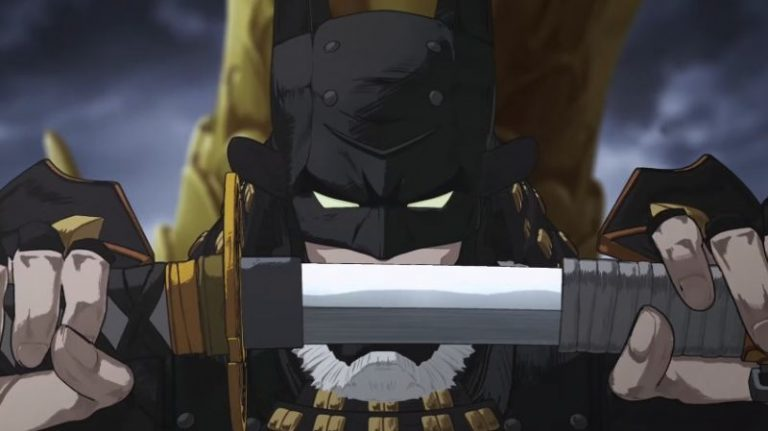 "Trailer: The Dark Knight Fights In Feudal Japan in the New Anime ""Batman Ninja"""
