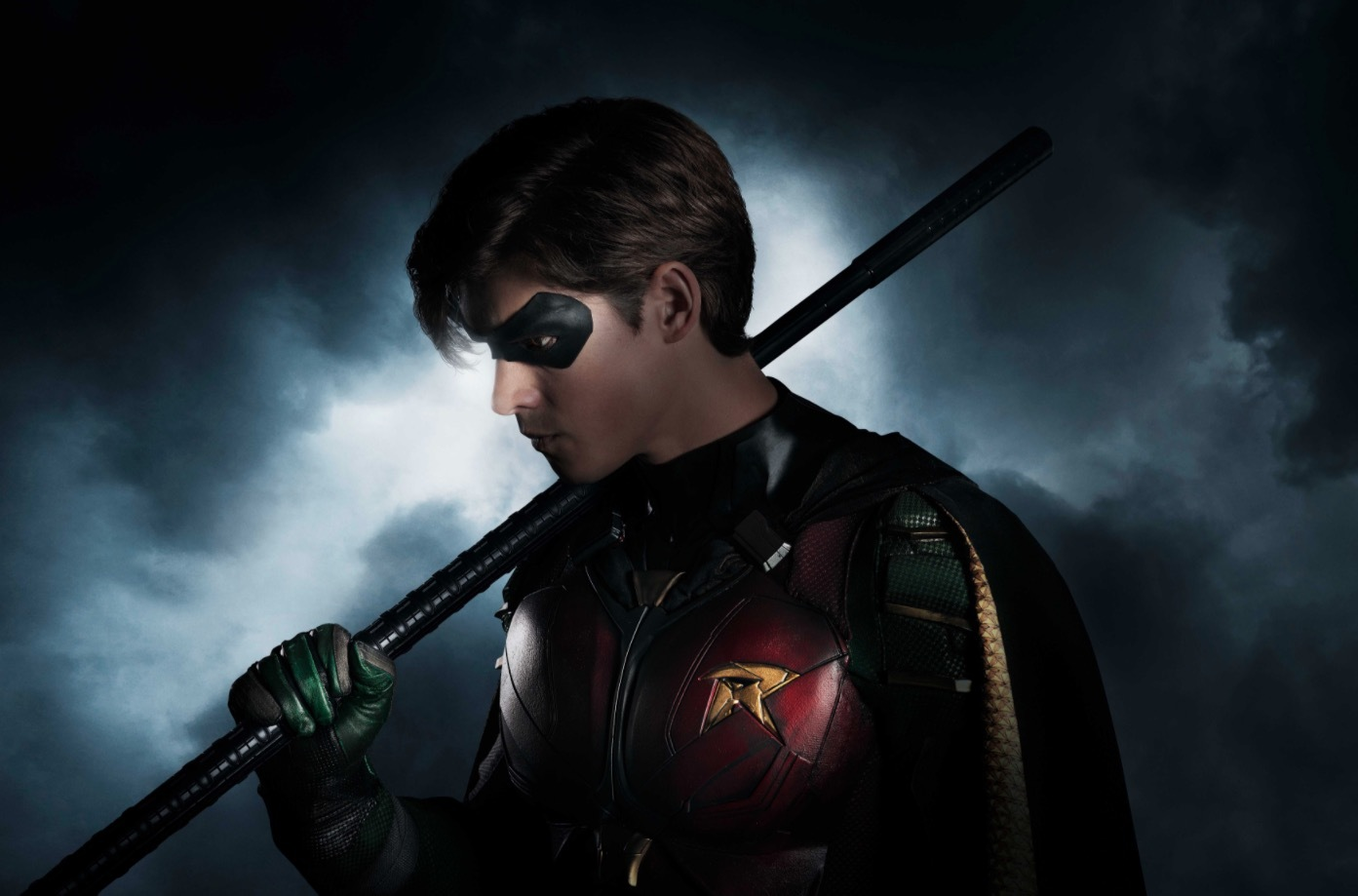 "The First Look at Actor Brenton Thwaites in DC's Live Action Streaming Series ""Titans"""