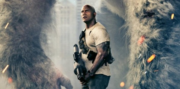 Check Out the New RAMPAGE TV Spot Starring The Rock from Championship Sunday