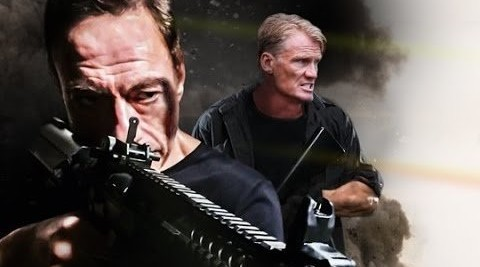 BLACK WATER: New German Trailer Shows Off Even More JCVD and Lundgren Action!