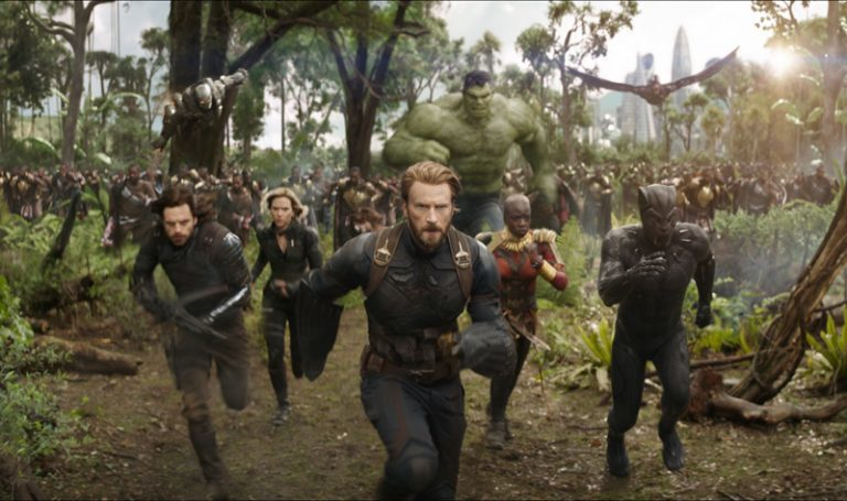 AVENGERS: INFINITY WAR: Earth's Mightiest Heroes Make a Last Stand in the Big Game TV Spot!