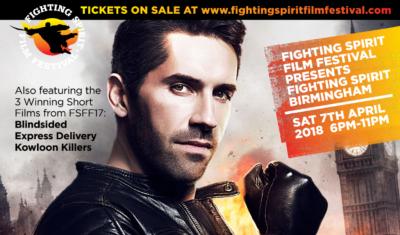 Scott Adkins is Bringing ACCIDENT MAN to the 2018 UK Fighting Spirit Film Festival!