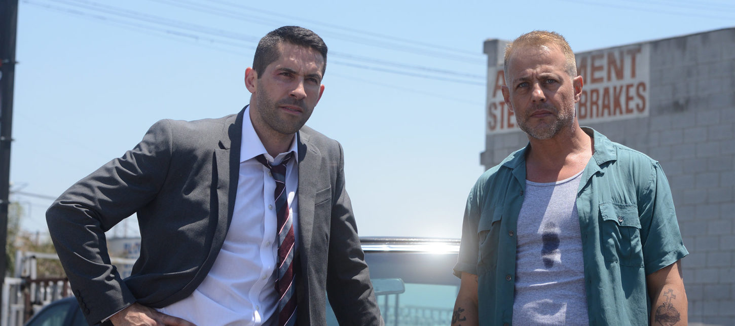 THE DEBT COLLECTOR: Scott Adkins and Louis Mandylor Take Out the Trash in the New Trailer