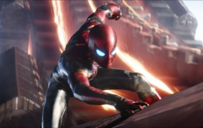 Spider-Man Swings into Action in a New Clip from AVENGERS: INFINITY WAR