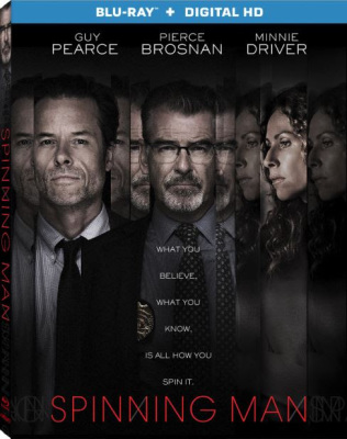 Guy Pearce and Pierce Brosnan Star in SPINNING MAN Coming to Blu-ray and Digital