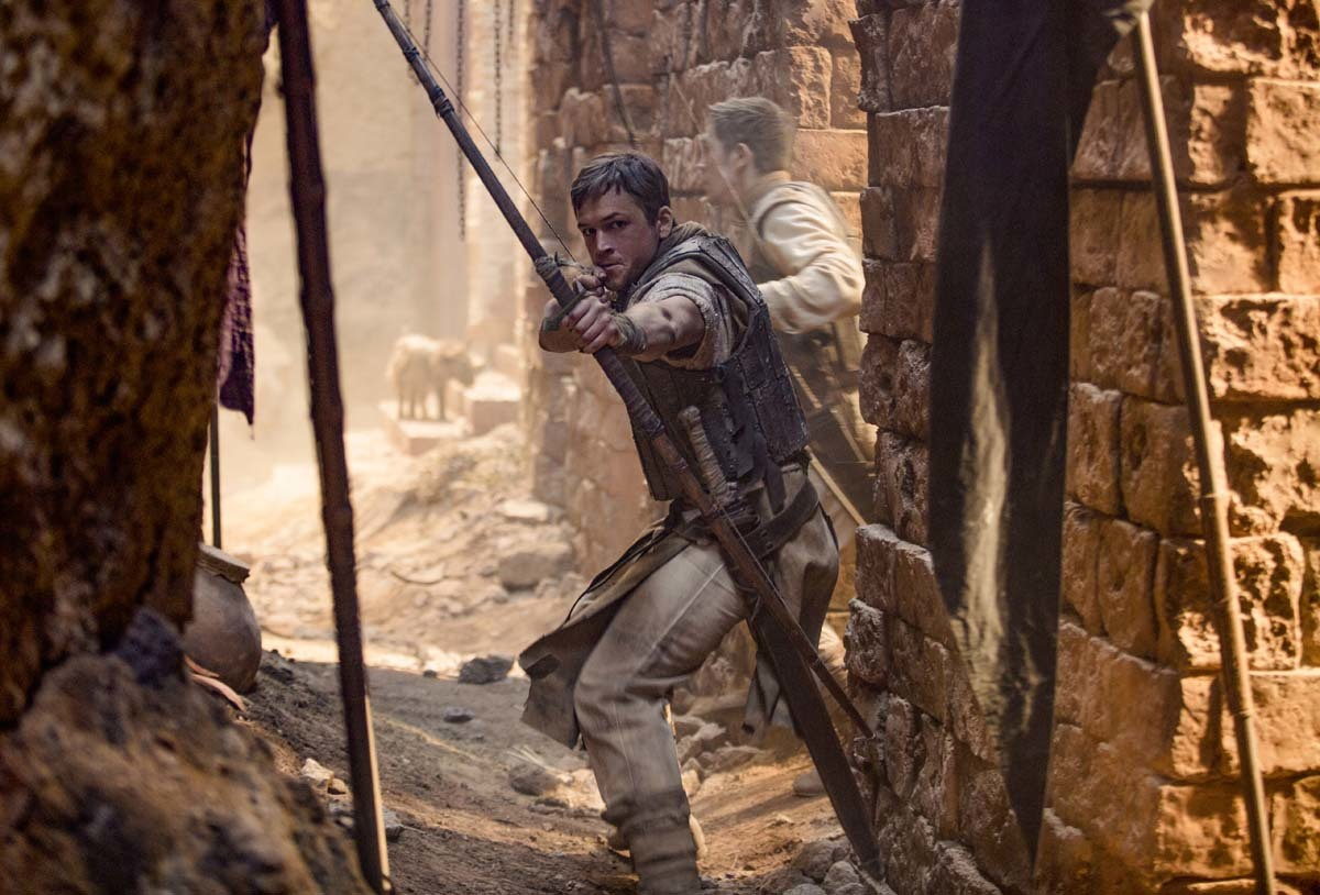 ROBIN HOOD: Taron Egerton is the Iconic Hero in the New Adaptation of the Timeless Classic!
