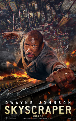 SKYSCRAPER: Dwayne Johnson Takes a Licking and Keeps On Ticking in the New Trailer