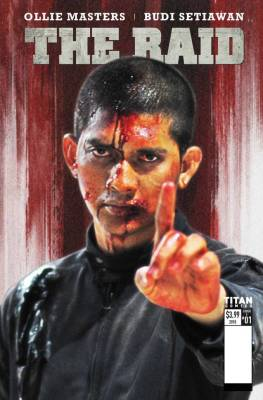 Iko Uwais is Back in THE RAID Comic Book Adaptation!