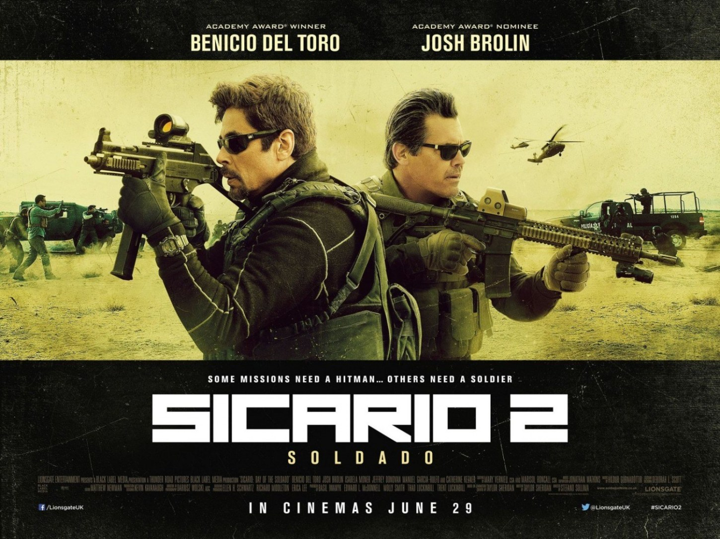 SICARIO: DAY OF THE SOLDADO- This War Needs a Soldier and a Hitman in the New Trailer