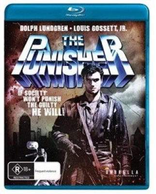 Dolph Lundgren's THE PUNISHER Finally Lands On Region Free Blu-Ray Complete with Director's Cut!