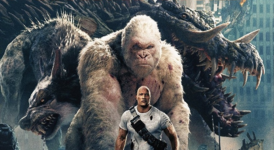 Home Video: RAMPAGE Sets Out to Destroy the Competition on Blu-Ray this Summer!