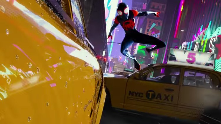 SPIDER-MAN: INTO THE SPIDER-VERSE: There's a New Web Slinger in the Official Trailer!