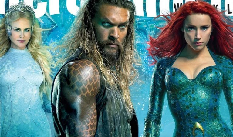 AQUAMAN: Entertainment Weekly Unleashes New Covers and Pics for the Upcoming DCEU Film