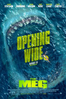 THE MEG: It's JAWS Times a Hundred with the New Poster and Trailer for Statham's Upcoming Thriller