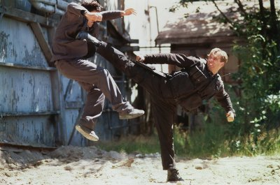 CLASSIC ACTION: Gary Daniels is the King of the Urban Jungle in 1996 Fisticuffs Winner WHITE TIGER