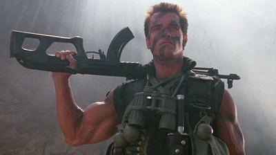 THE ACTION FIX: It's Old School One Man Army Action Time with Schwarzenegger from COMMANDO!