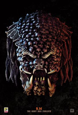 SDCC: THE PREDATOR has Arrived in the New Poster for the Upcoming New Film from Shane Black!