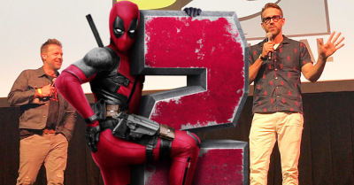 SDCC: Ryan Reynolds and David Leitch Expose the DEADPOOL 2 SUPER DUPER Extended CUT at the Con!