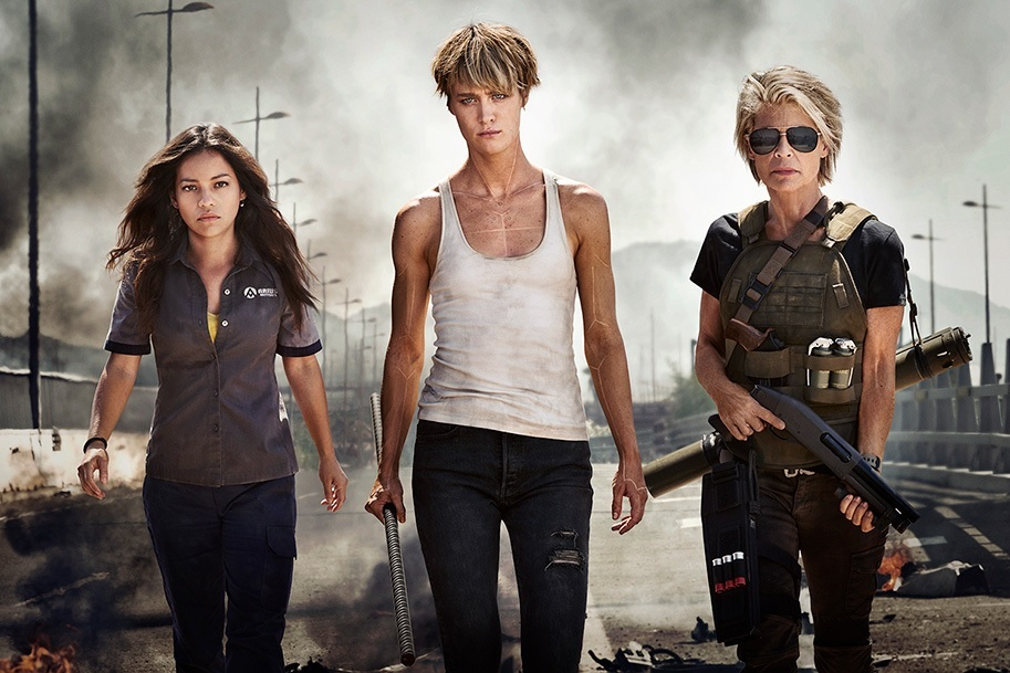 The Women are Front and Center in the First Official Image from Tim Miller's TERMINATOR