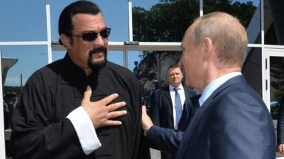 Steven Seagal Goes from ABOVE THE LAW to Russian Special Envoy to the U.S.
