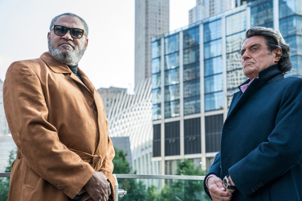 LAURENCE FISHBURNE AND IAN MCSHANE Get Acquainted in a New Image from JOHN WICK 3: PARABELLUM!