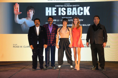 """Chitah Yajnesh Shetty to Direct Hollywood Martial Arts Action film """"HE IS BACK,"""" Honoring Bruce Lee!"""