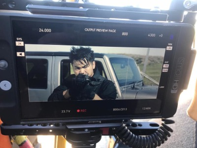 Jean-Paul Ly Takes Aim as New On Set Images Debut with Filming Commencing on VENGEANCE 2