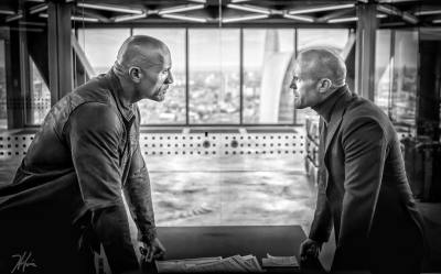 HOBBS AND SHAW Come Face to Face in the Official Set Image from the Upcoming Spin-Off!