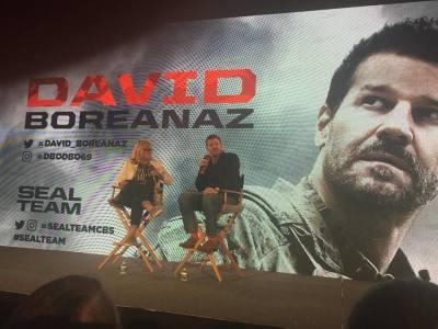 NYCC 2018: A Conversation with SEAL TEAM'S David Boreanaz- Exclusive Photos!