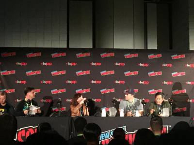 NYCC 2018: The DC UNIVERSE Panel with Geoff Johns and Jim Lee- Exclusive Photos!