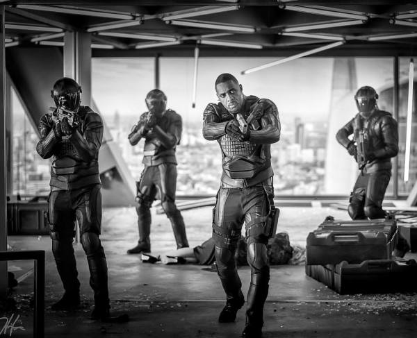 Idris Elba is Armed and Lethal in New On Set Image from HOBBS AND SHAW