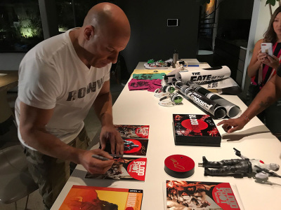 Vin Diesel Offers a First Look at BLOODSHOT at the GAME4PAUL Fundraiser!