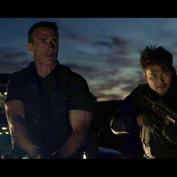 VENGEANCE 2: A New Image Shows Jean-Paul Ly and Mark Griffin Ready to Rumble!